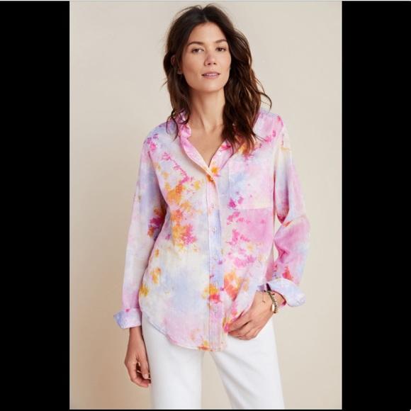 Anthropologie Pilcro Tie Dye Shirt - M